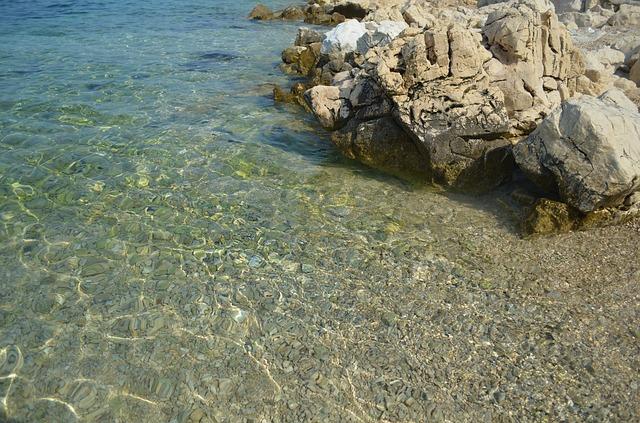 Bild von einem Strand