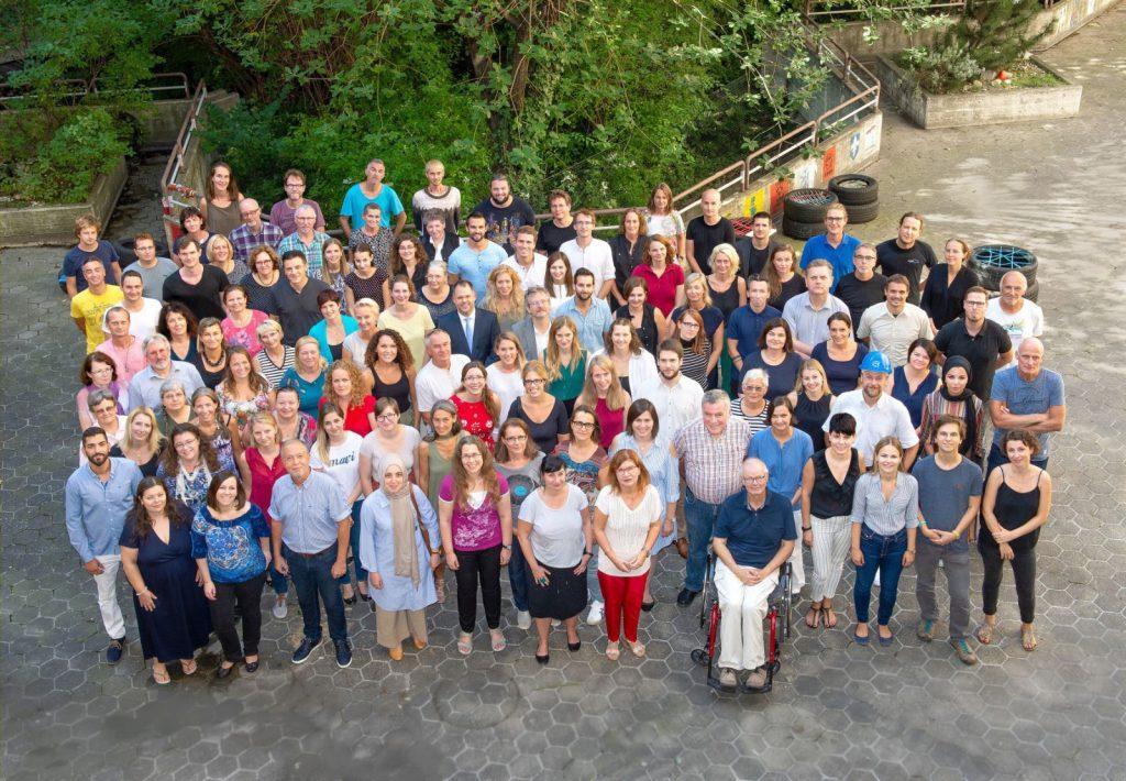 LehrerInnen Gruppenfoto