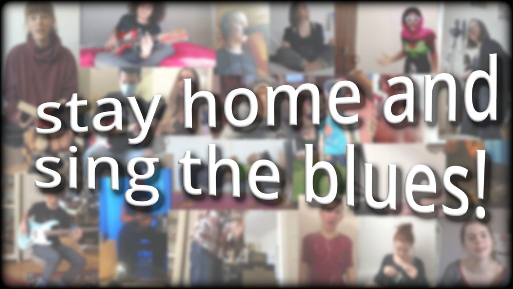 Stay Home and Sing the Blues Titelbild