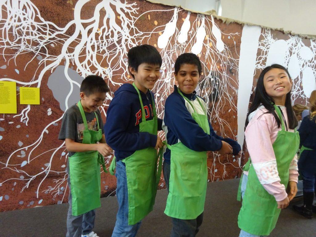 Kinder bei Biophysik-Labs